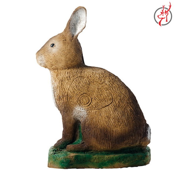 3D-Tier-Hase-stehend