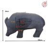 3D-Tier Wildschwein Trainingsziel 2